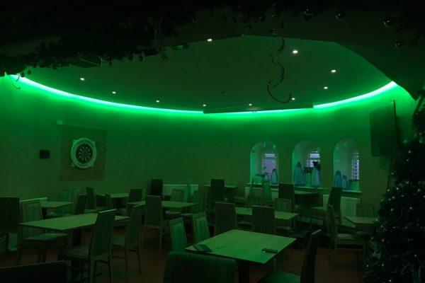 LED lighting Hove Deep Sea Anglers Club