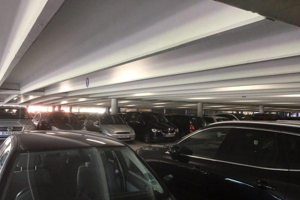 LED lighting for a Chichester car park